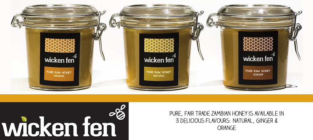 Wicken Fen, pure vegetarian honey